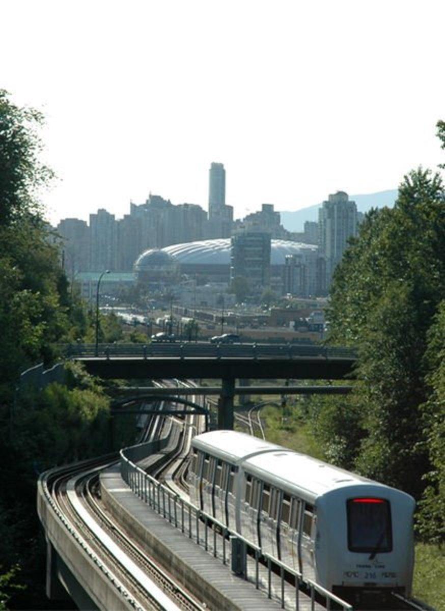 Vancouver Sky train