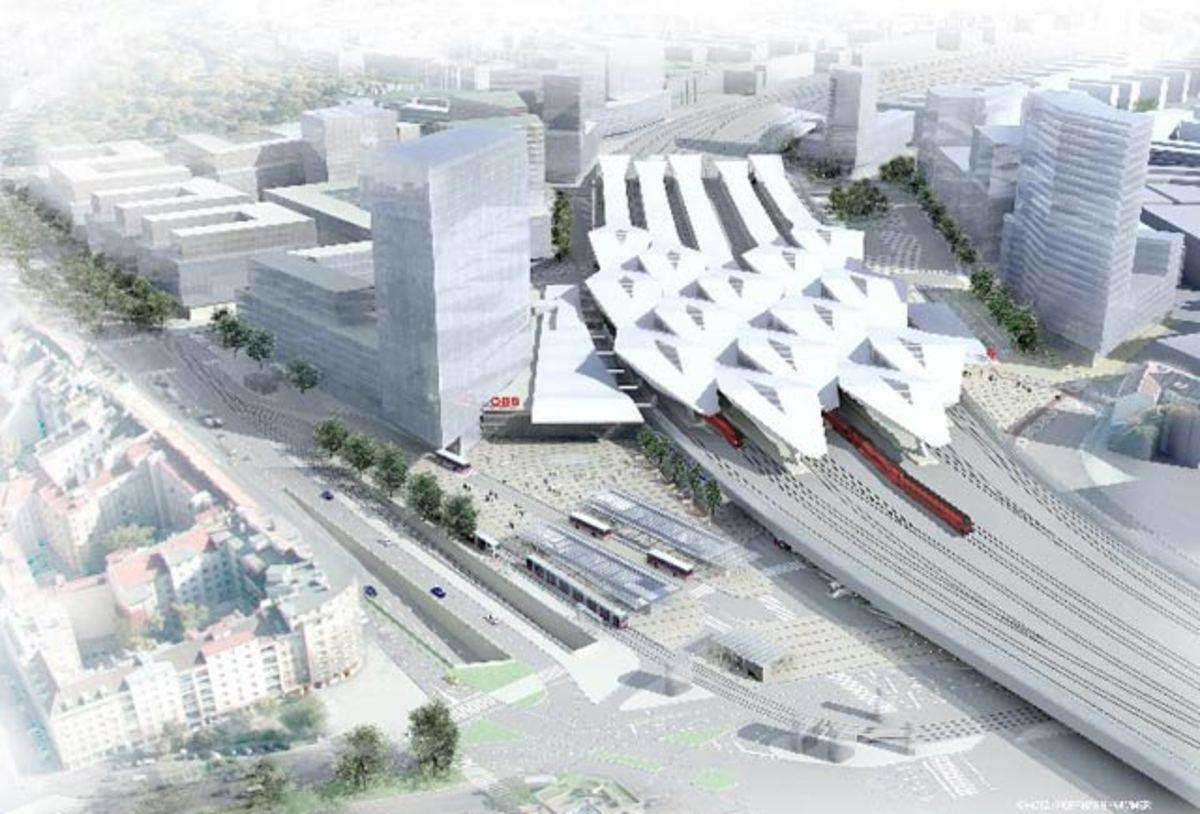 Vienna Central Railway Station