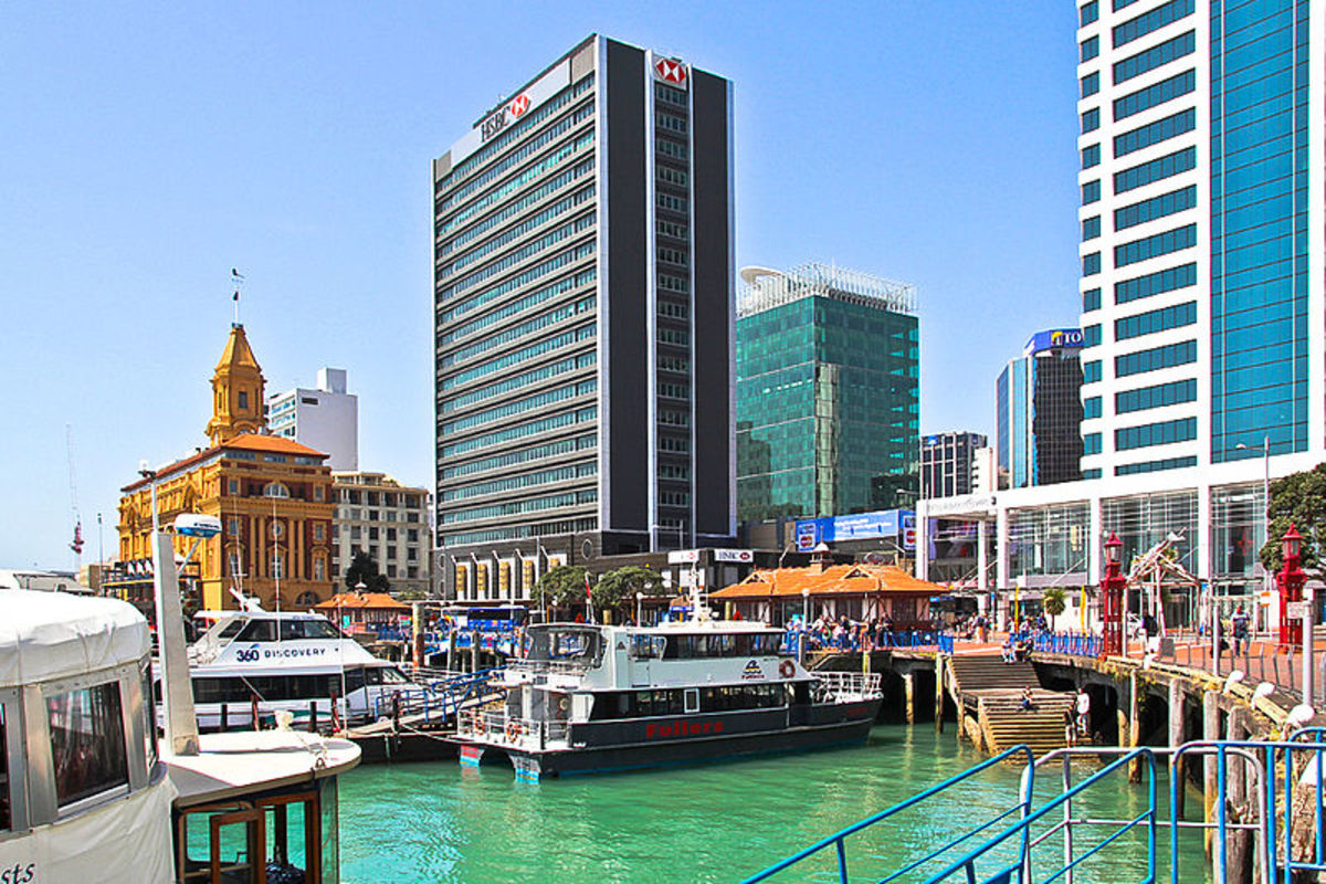 Auckland Water Front