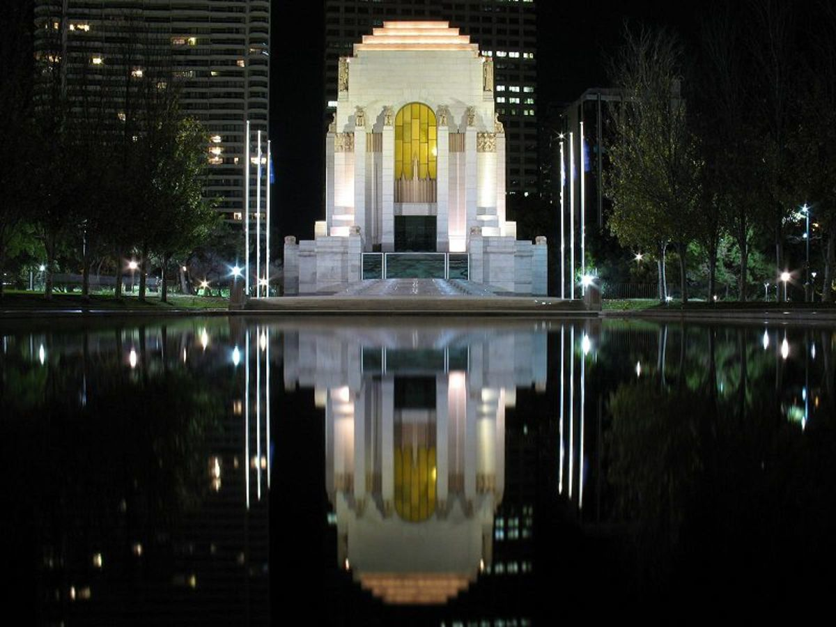 ANZAC War memorial in Sydney