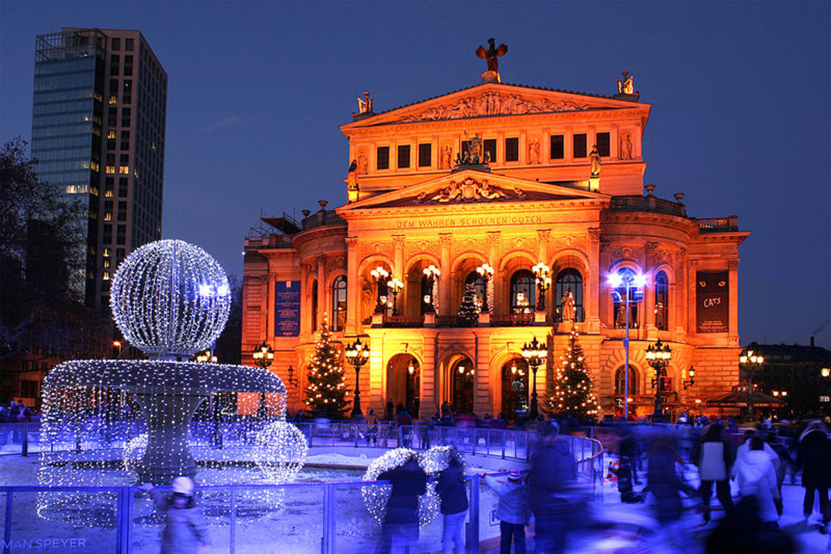 Frankfurt's old opera house now The Concert house