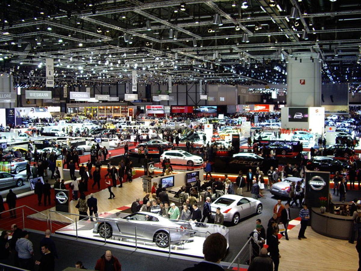 World famous Geneva Auto Show