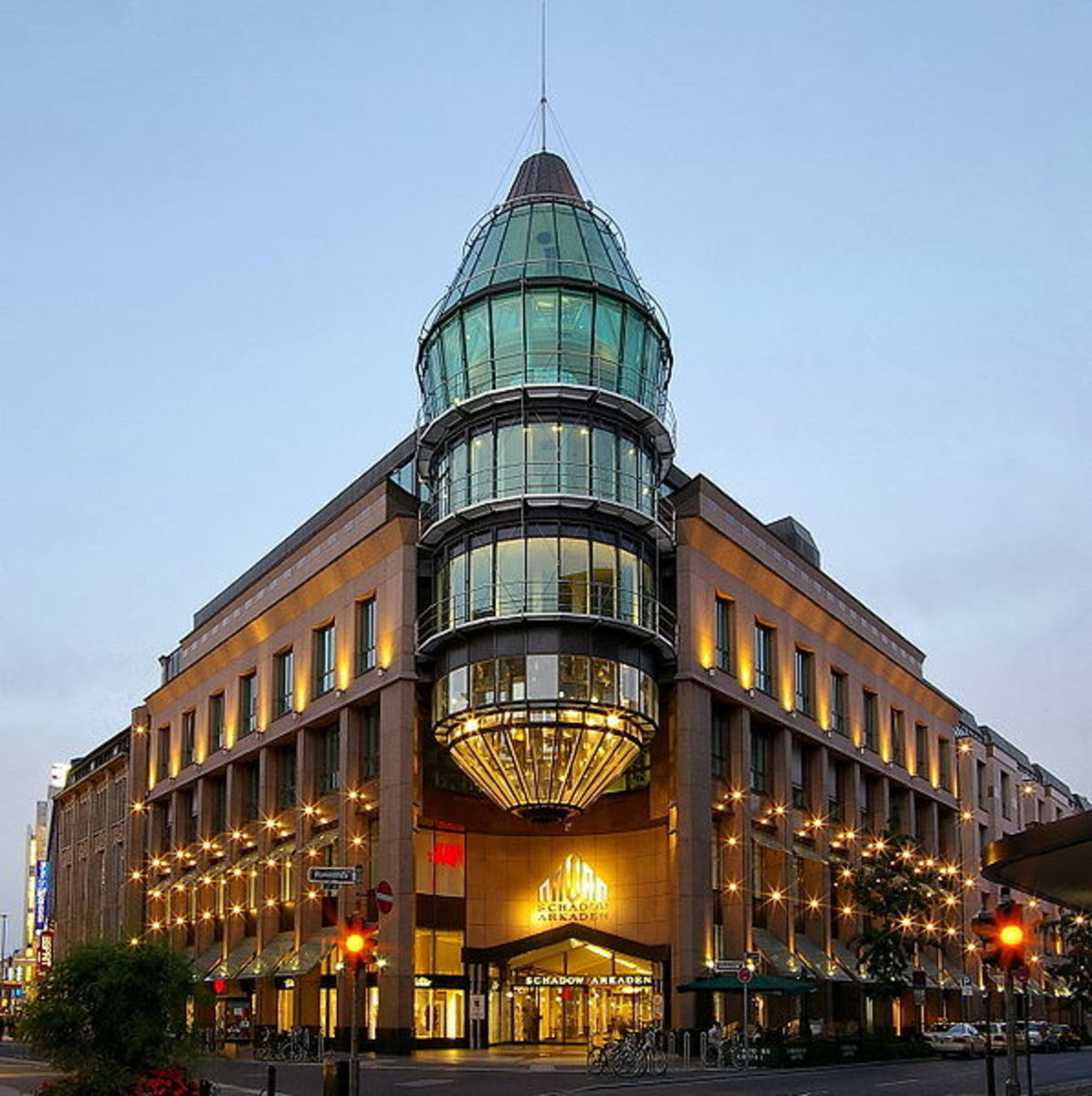 Dsseldorf Schadow Arkaden shopping mall