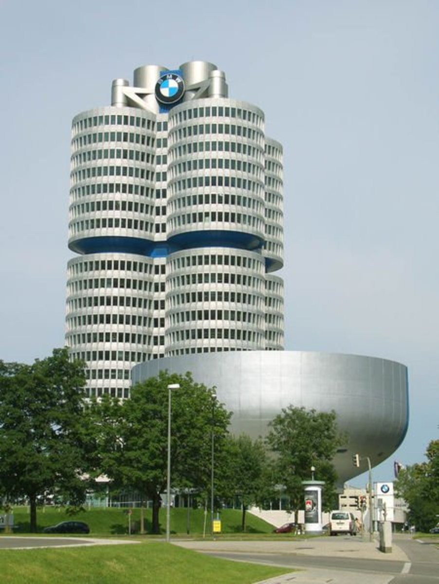 BMW's headquarters Munich