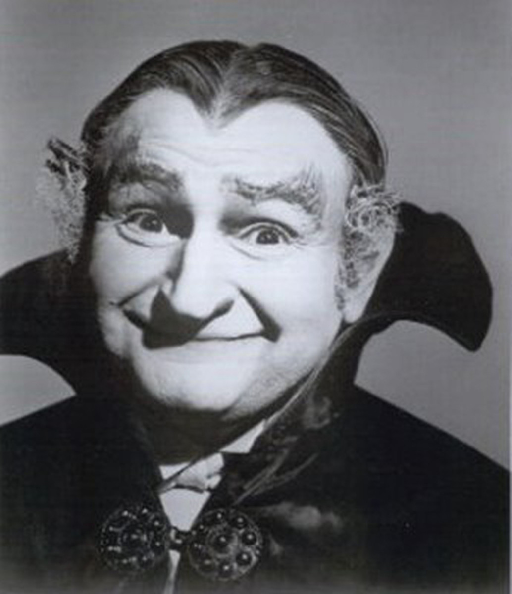 Al Lewis as the lovable Grandpa Munster.