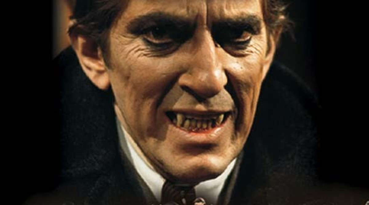 Barnabas Collins shows that even British vampires do not have pretty teeth.