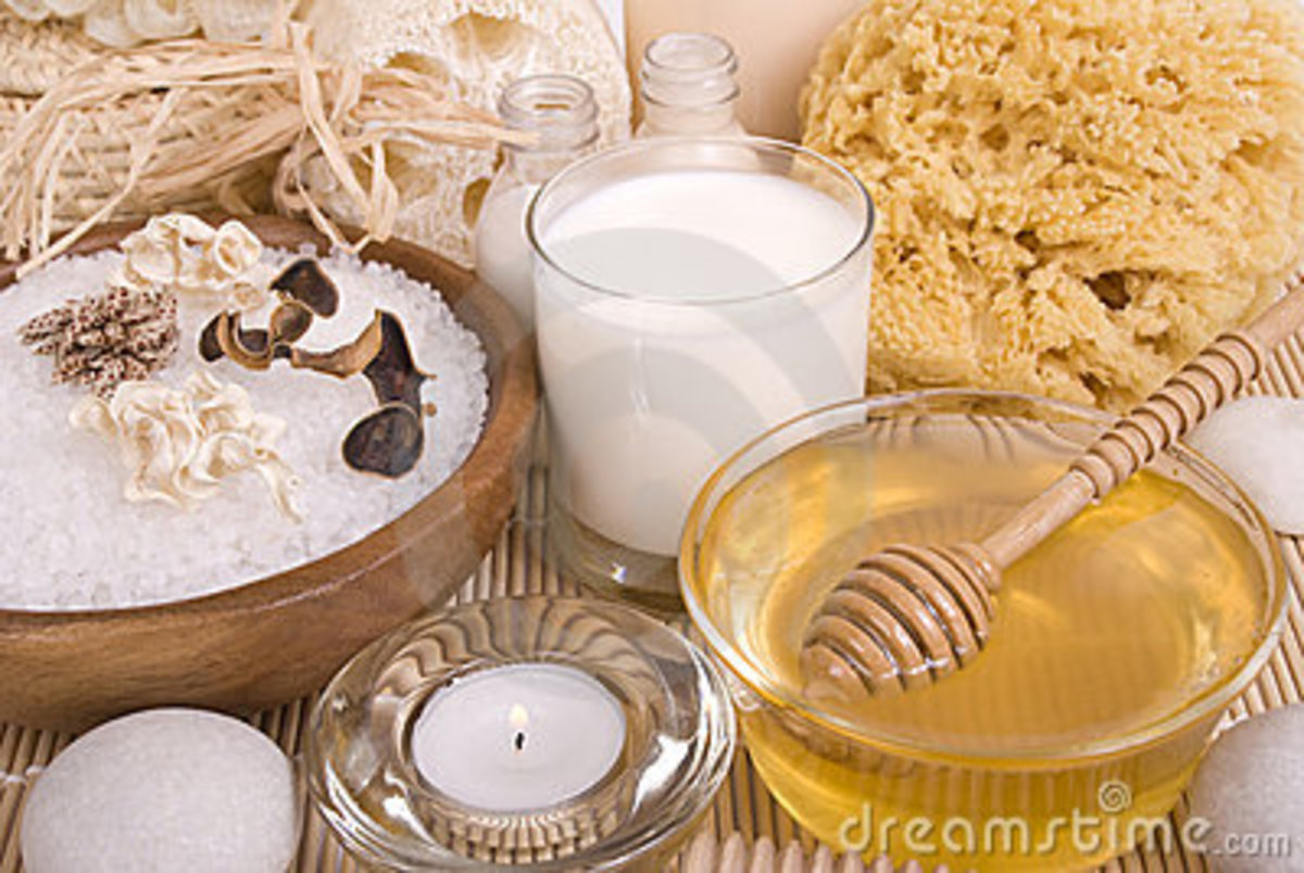 Homemade Beauty Solutions...make your own bath and body products