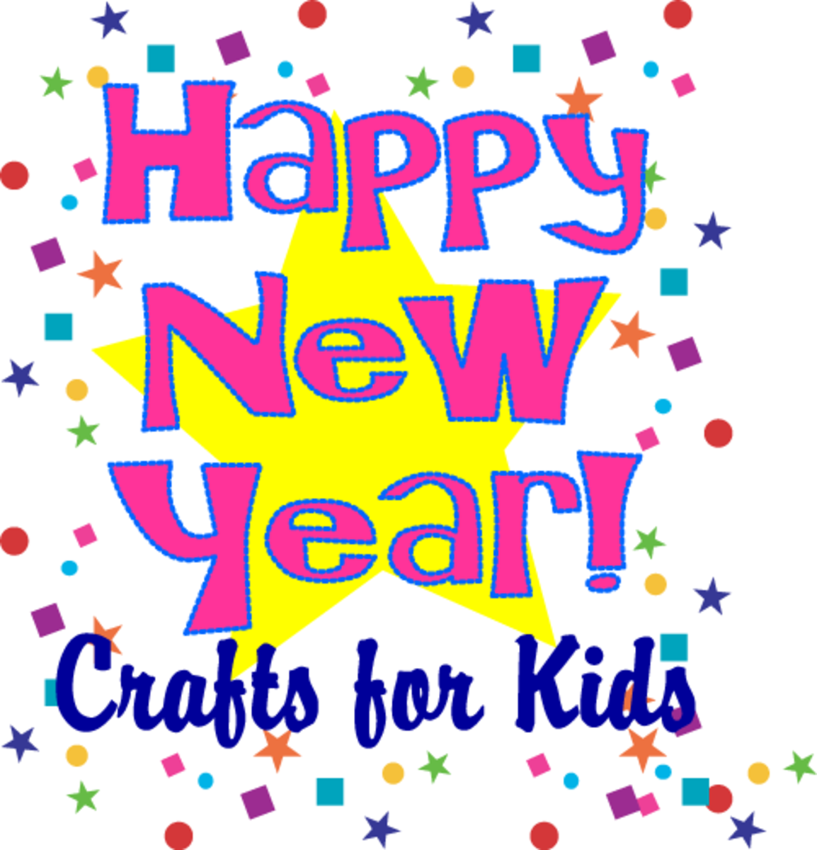 Fun New Year Crafts for Kids
