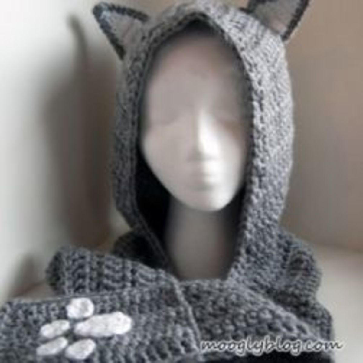 free hooded crochet scarf pattern
