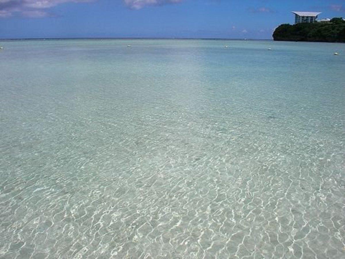 tumon beach, Guam, USA
