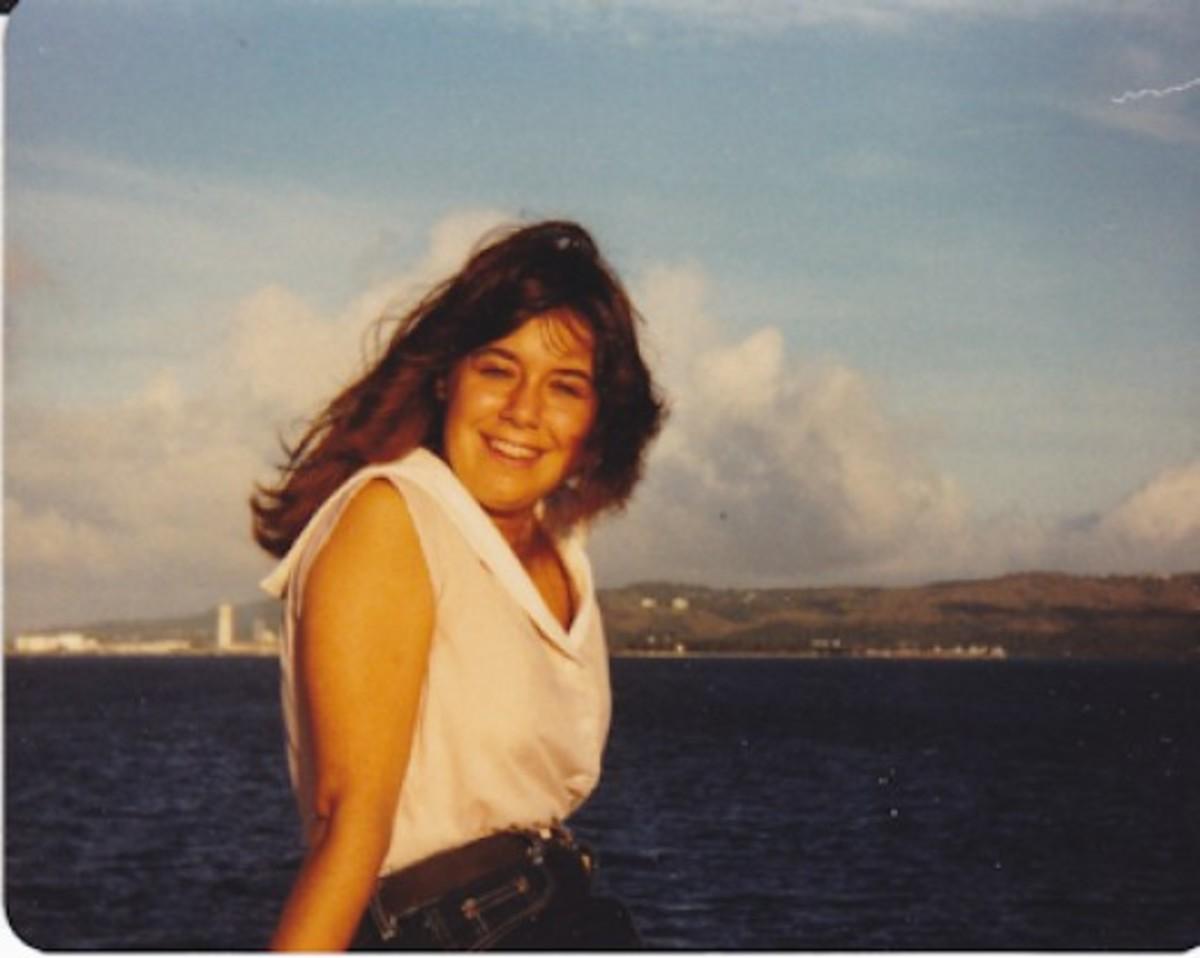 my last sunset on Guam