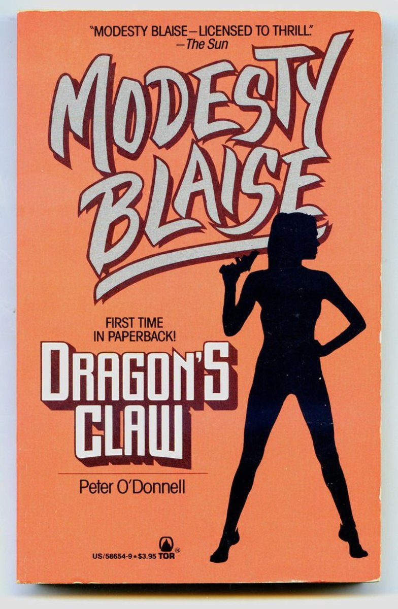 Dragon's Claw,  Paperback cover