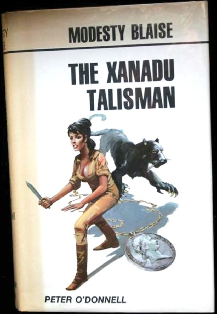 The Xanadu Talisman UK First Edition HC Souvenir Press