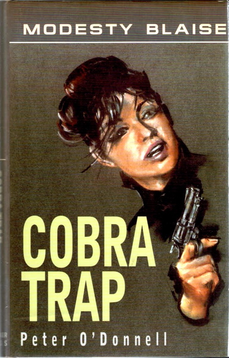 Cobra Trap UK First Edition HC Souvenir Press