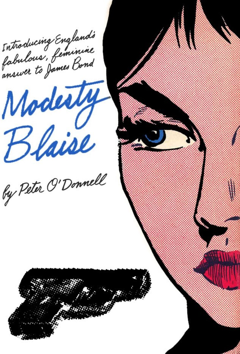 Modesty Blaise First US Edition Mysterious Press
