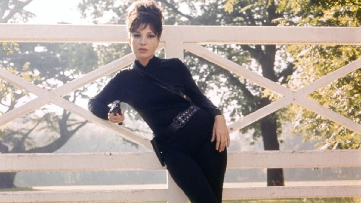 Monica Vitti as Modesty Blaise in the 1966 film