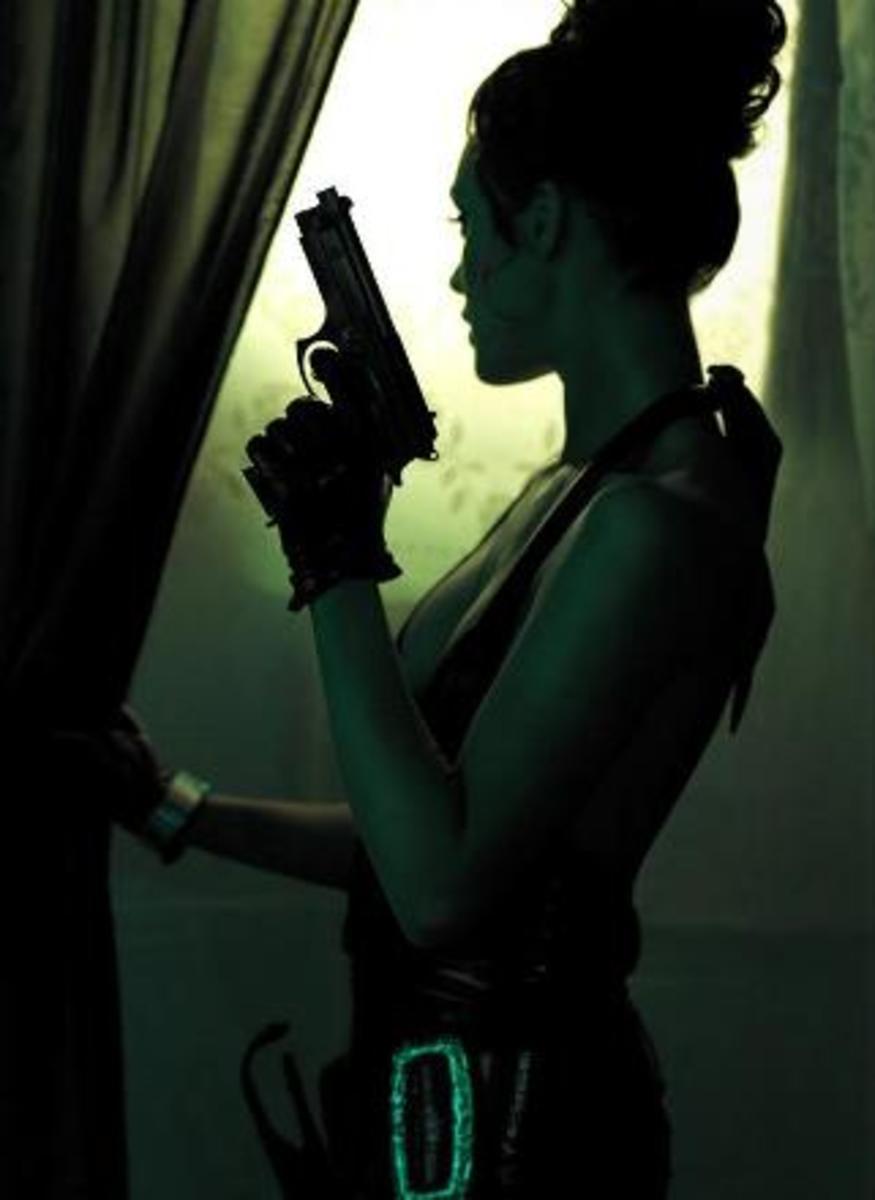 Modesty Blaise ( UCE Magazine Photoshoot)