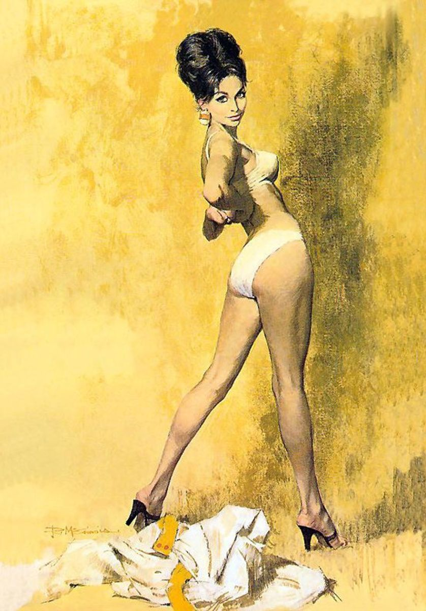 Modesty Blaise by Robert McGinnis