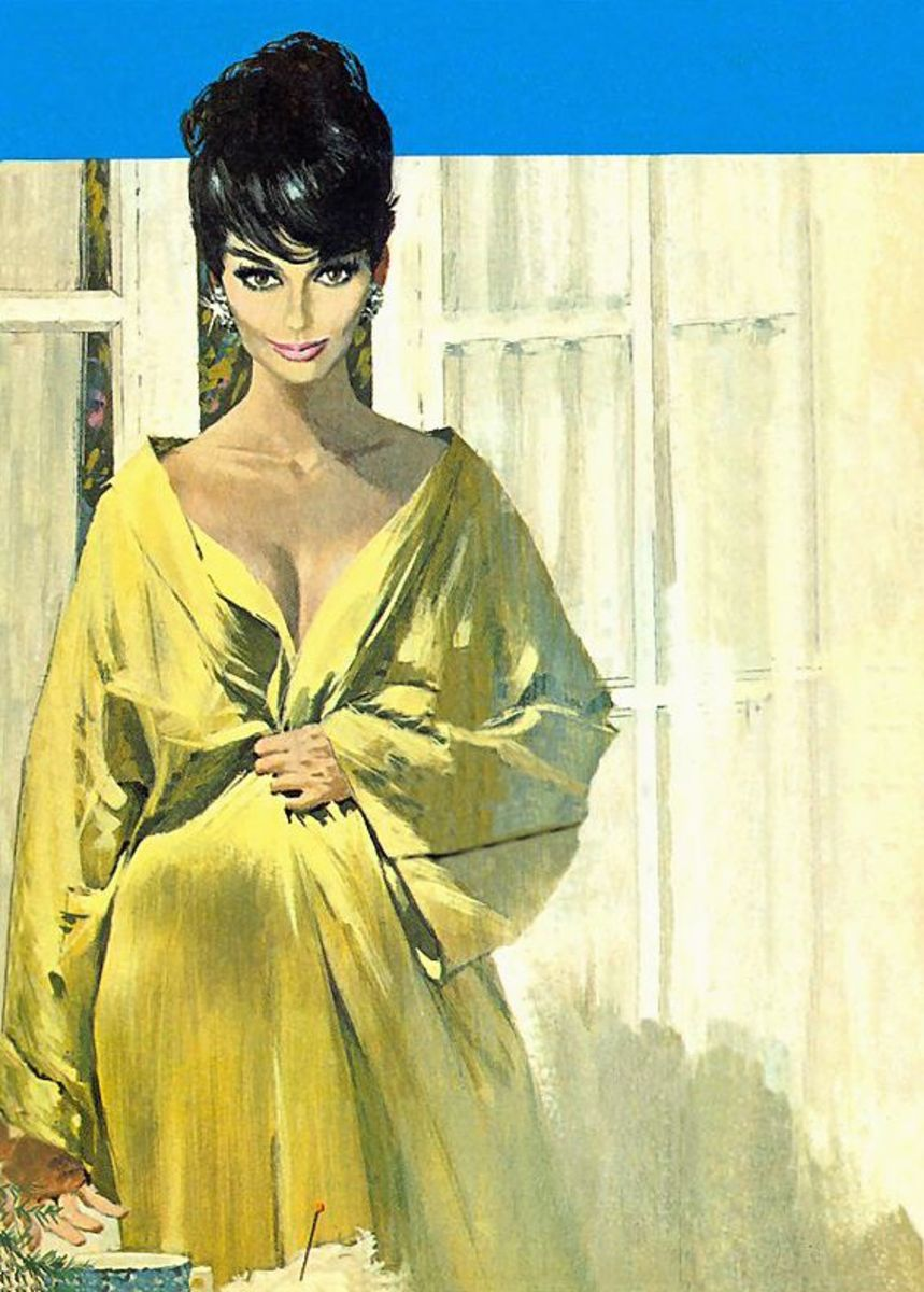 Modesty by Robert McGinnis