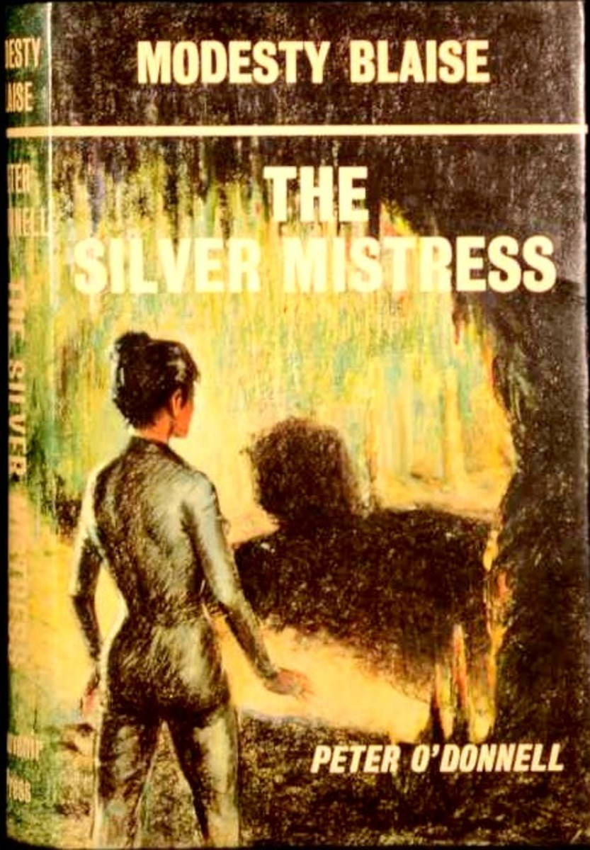 The Silver Mistress, UK First Edition HC Souvenir Press