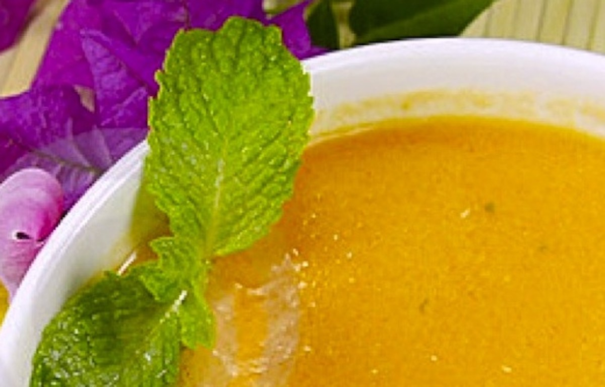 Peach Soup Recipe