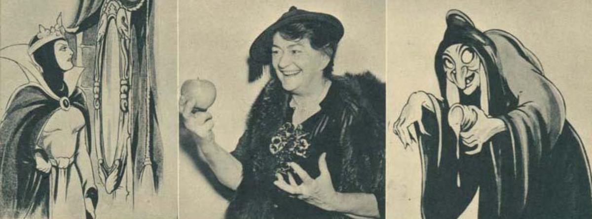 Lucille Laverne as Queen and Witch in Snow White