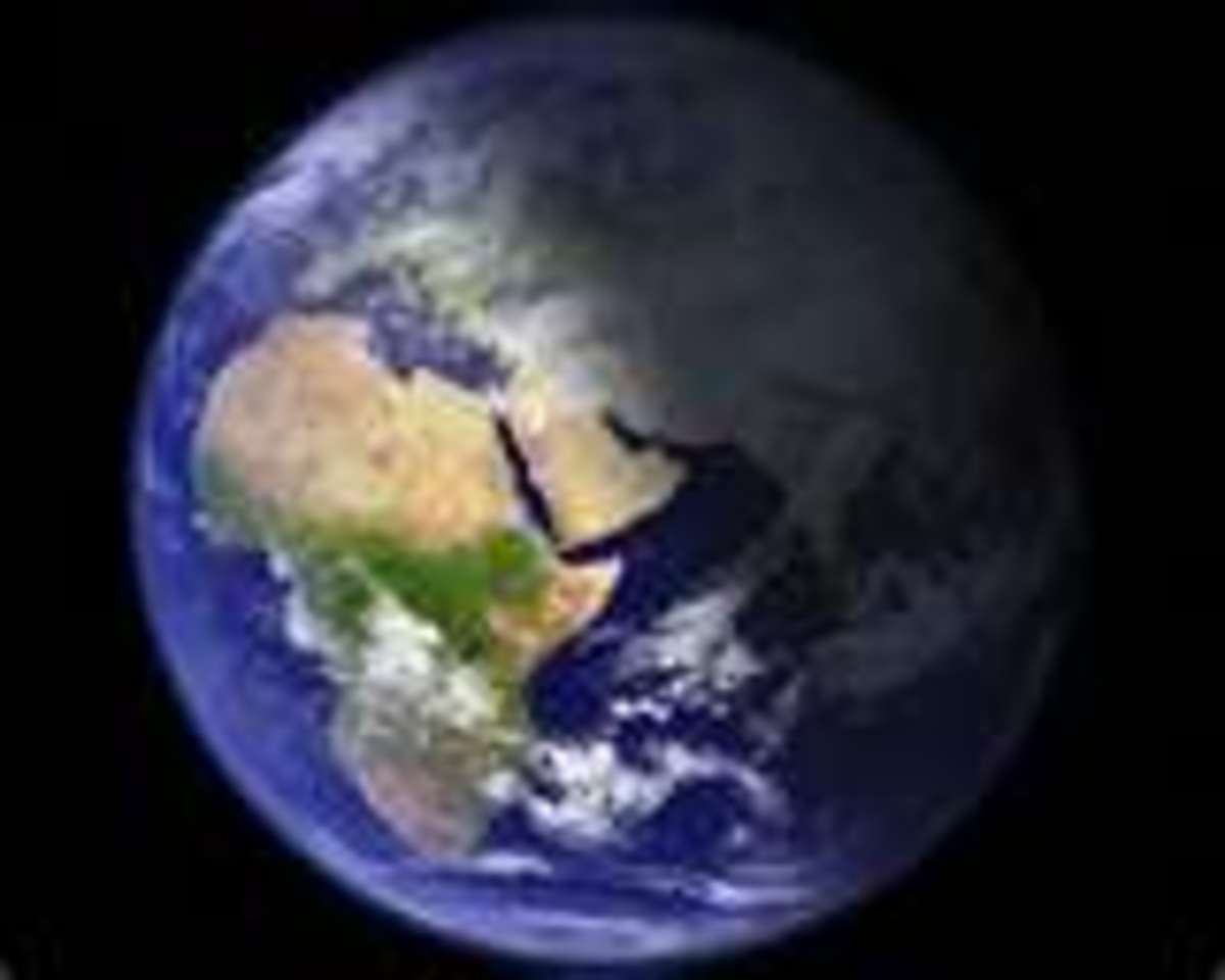Our Earth: Night and Day