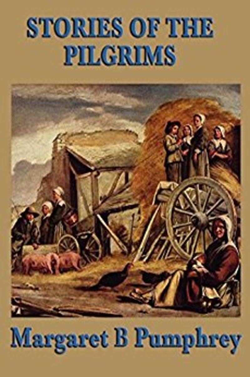 Stories of the Pilgrims by Margaret B Pumphrey (a chapter book)