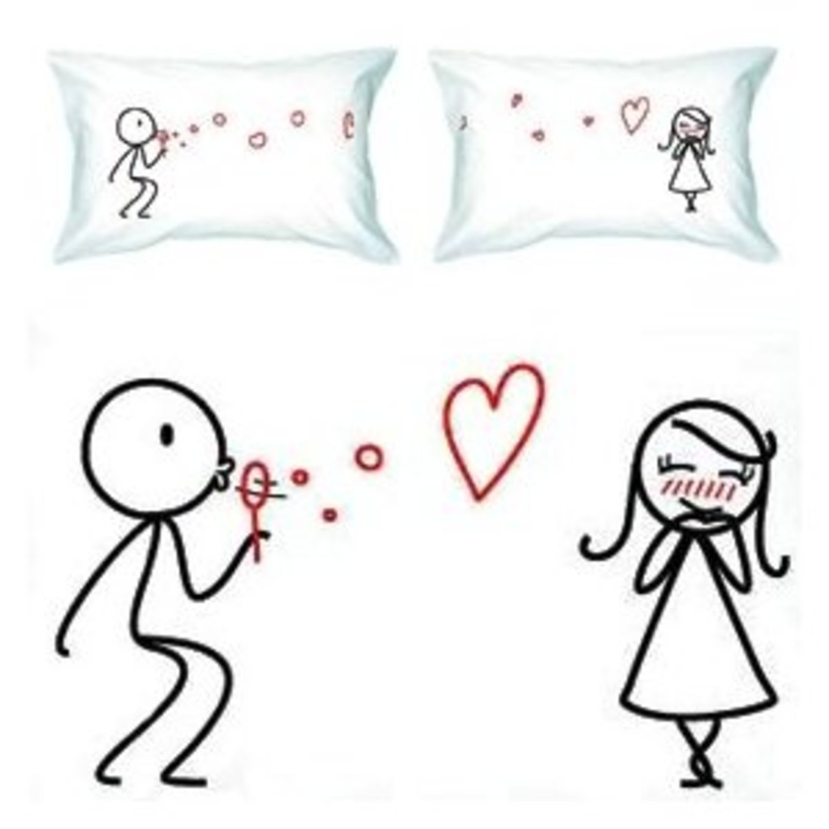 Too Cute Pillow Cases : Say
