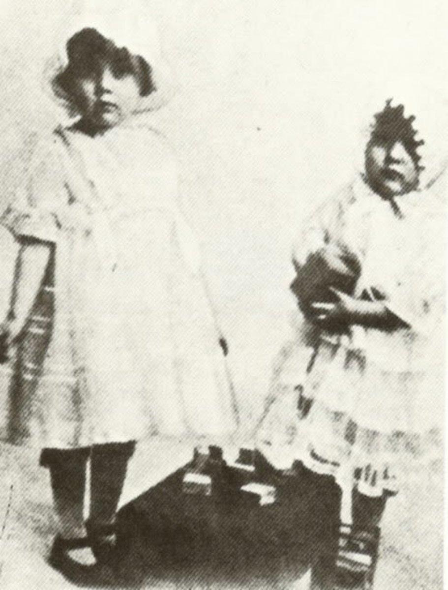 Two Sweet Little Girls