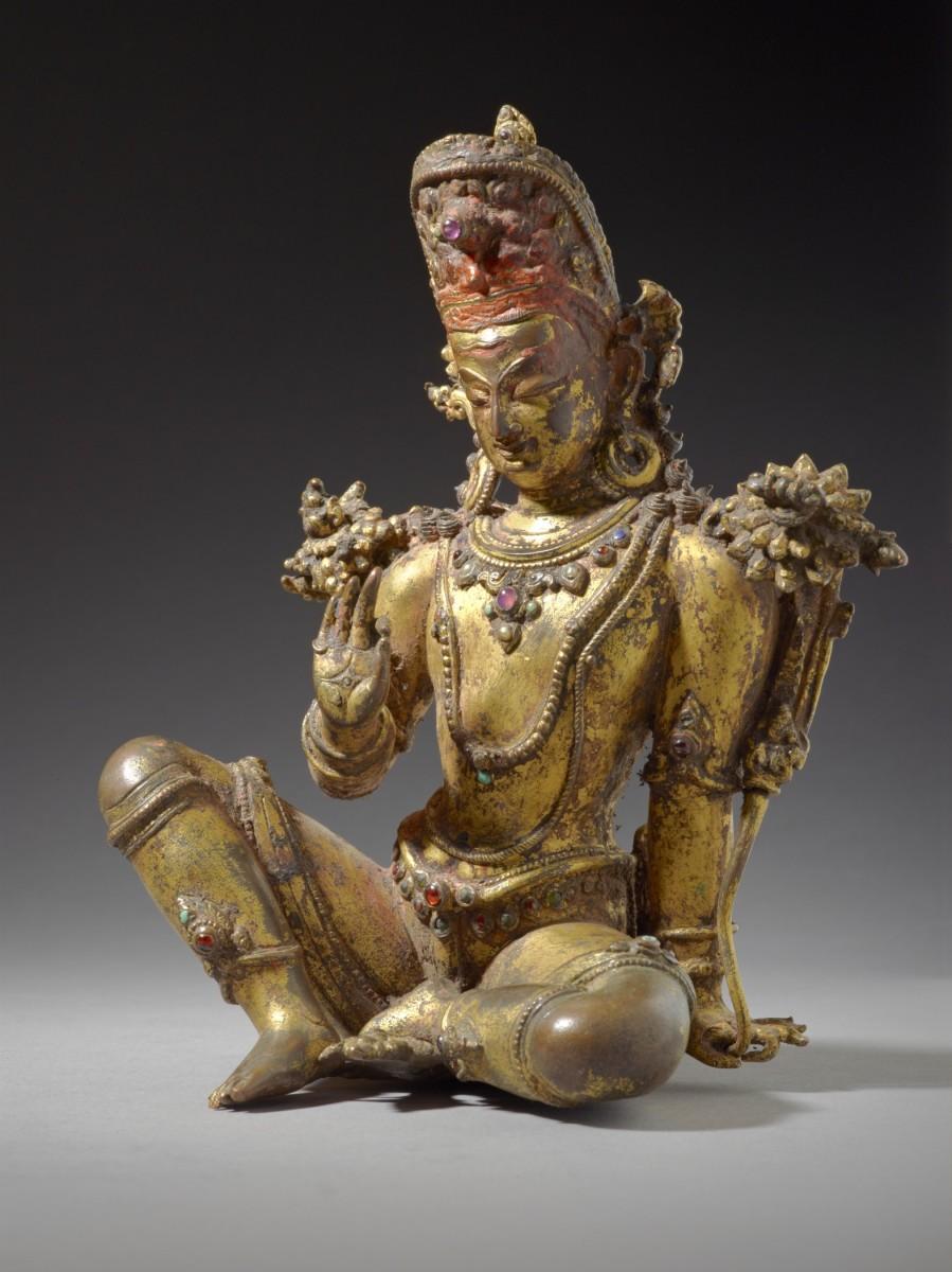Indra, Chief of the Gods ~ Nepal, 16th century