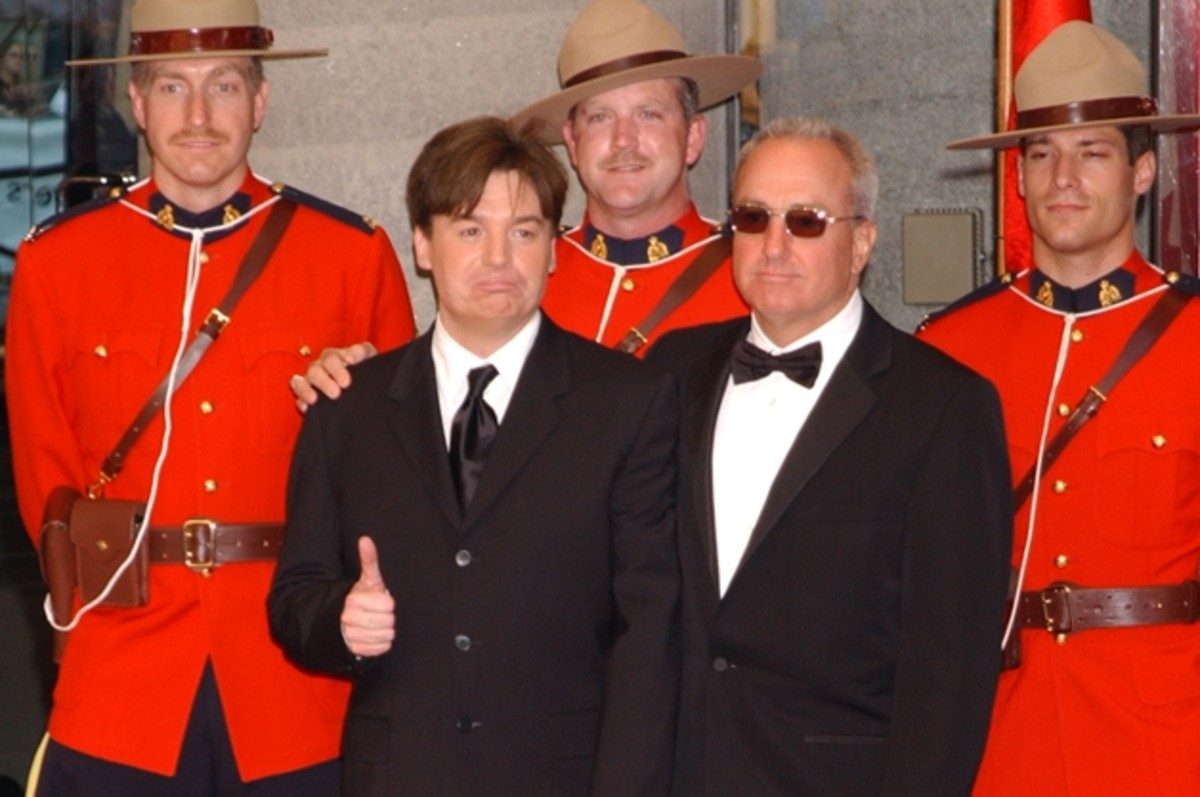 Mike Myers and Lorne Michaels received their stars on Canada's Walk of Fame in 2003
