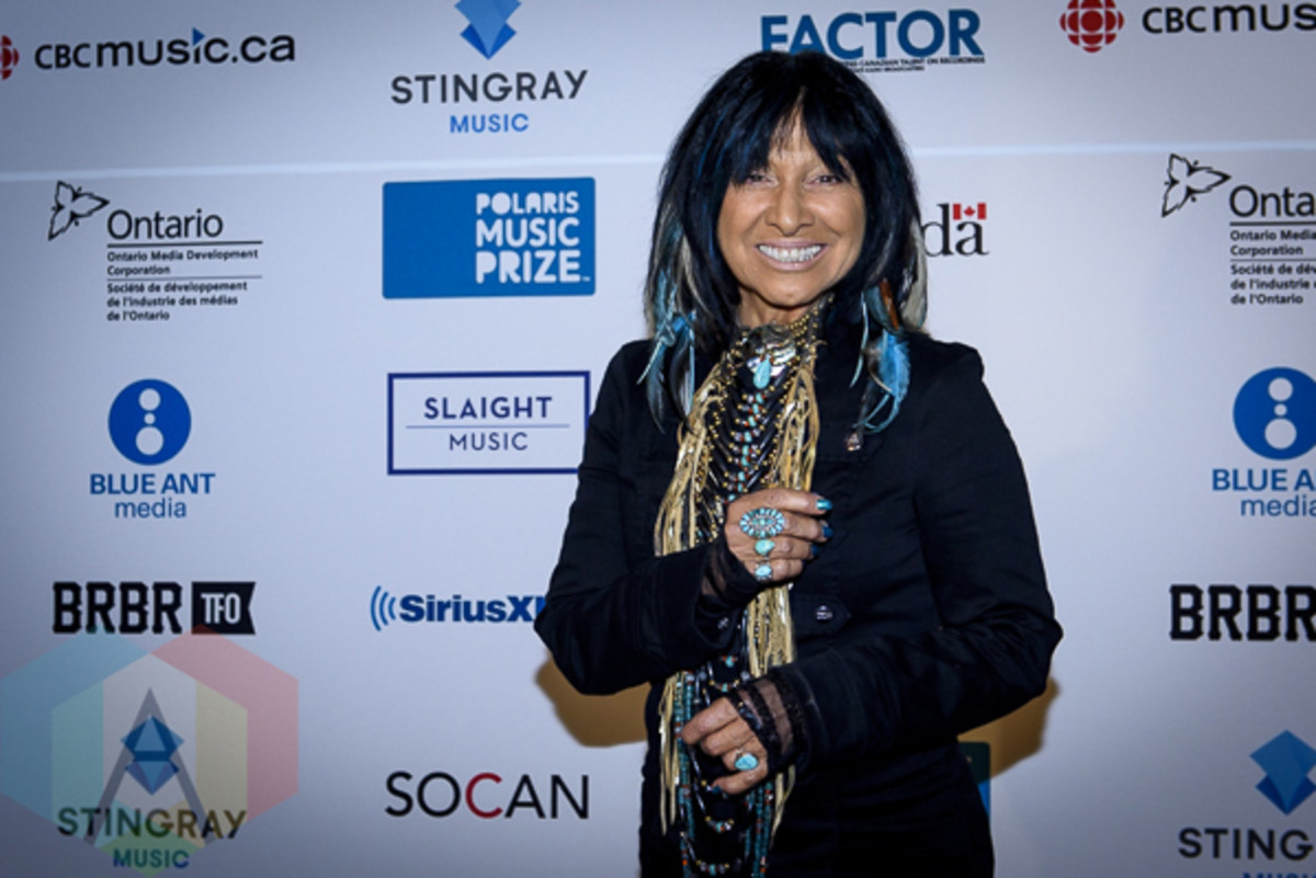 Buffy Sainte-Marie won the 2015 Polaris Music Prize