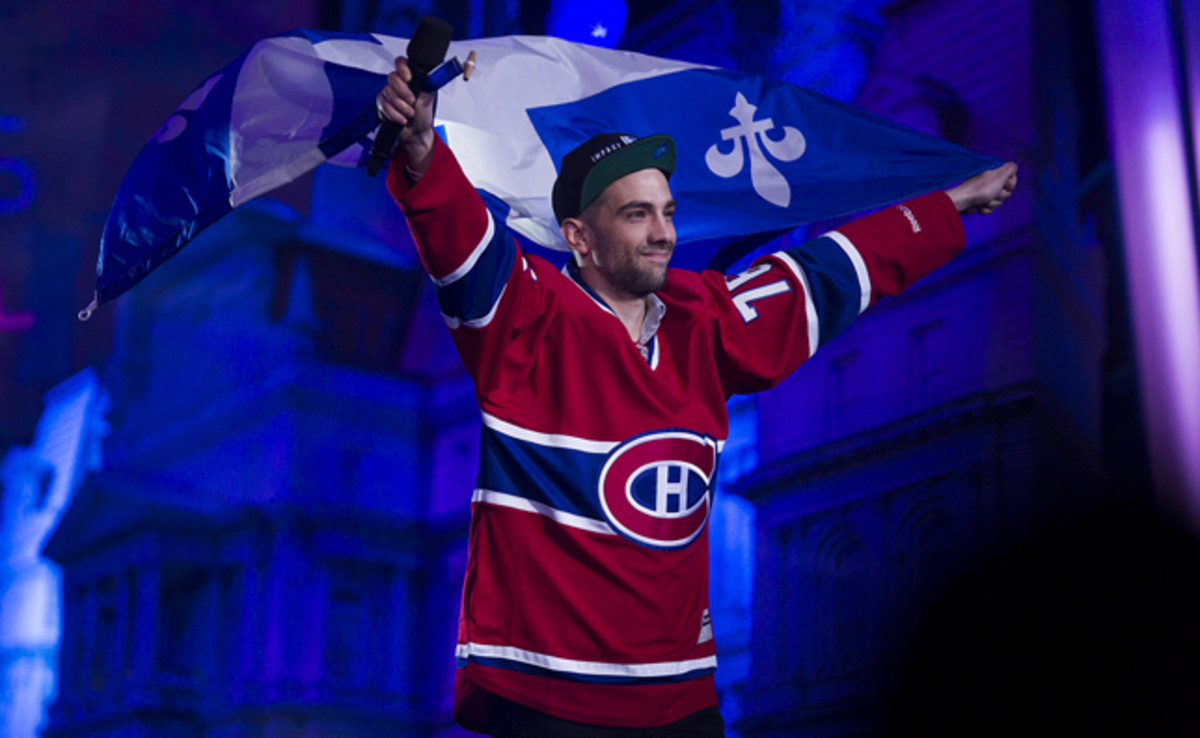 Jay Baruchel is a devoted Montreal Canadiens fan