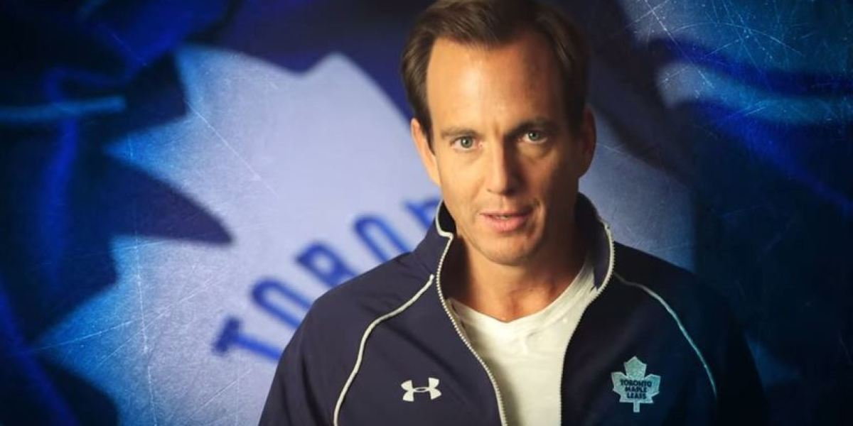 Will Arnett appeared in a promotional video for the Toronto Maple Leafs professional ice hockey team