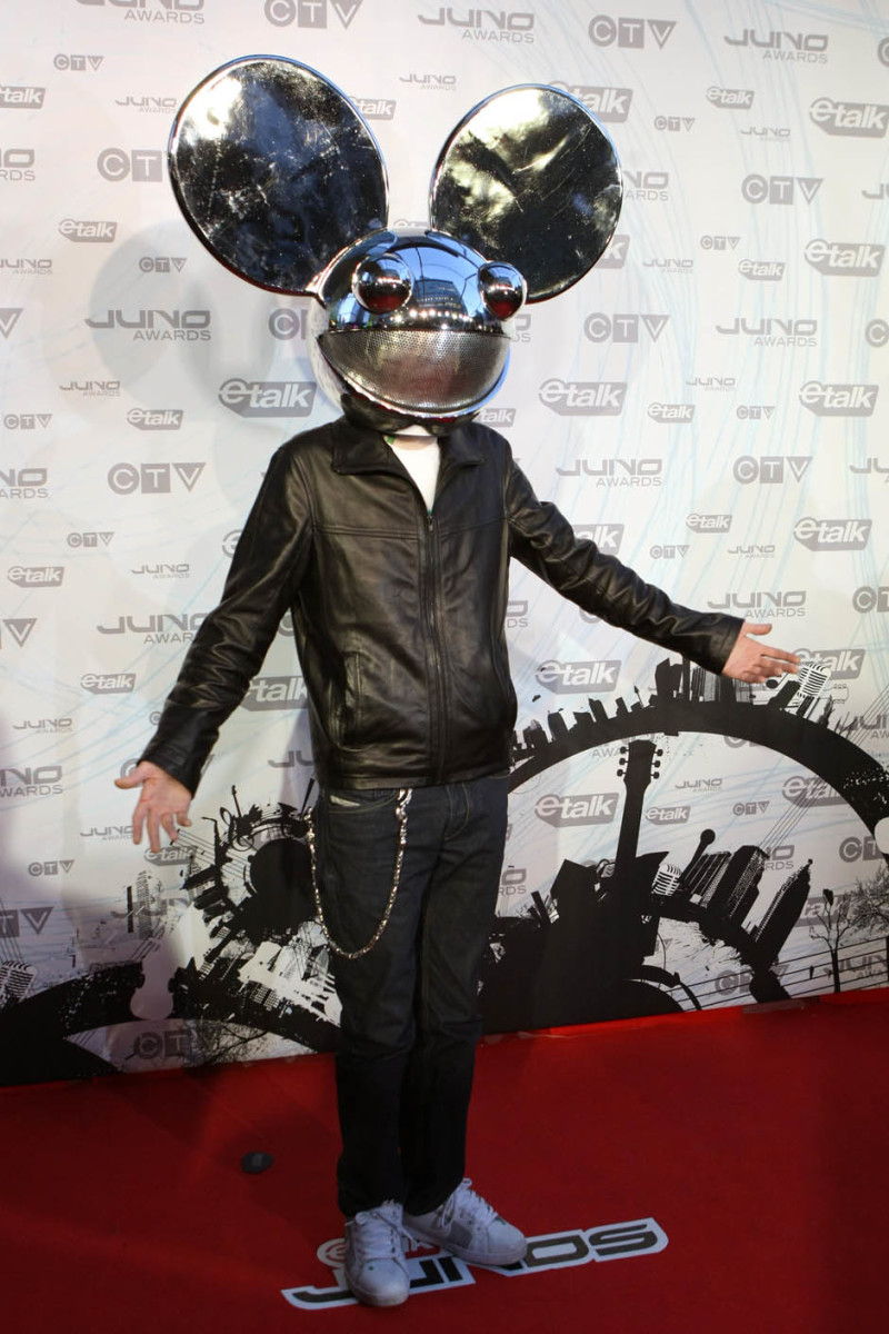 deadmau5 at the 2011 Juno Awards in Toronto