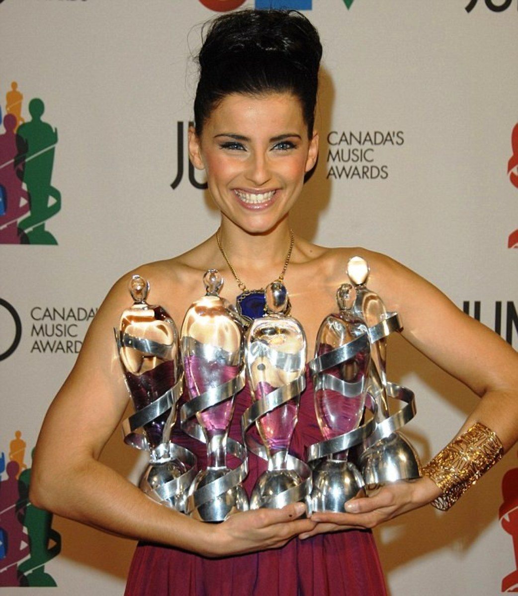 Nelly Furtado sweeps the 2007 Juno Awards