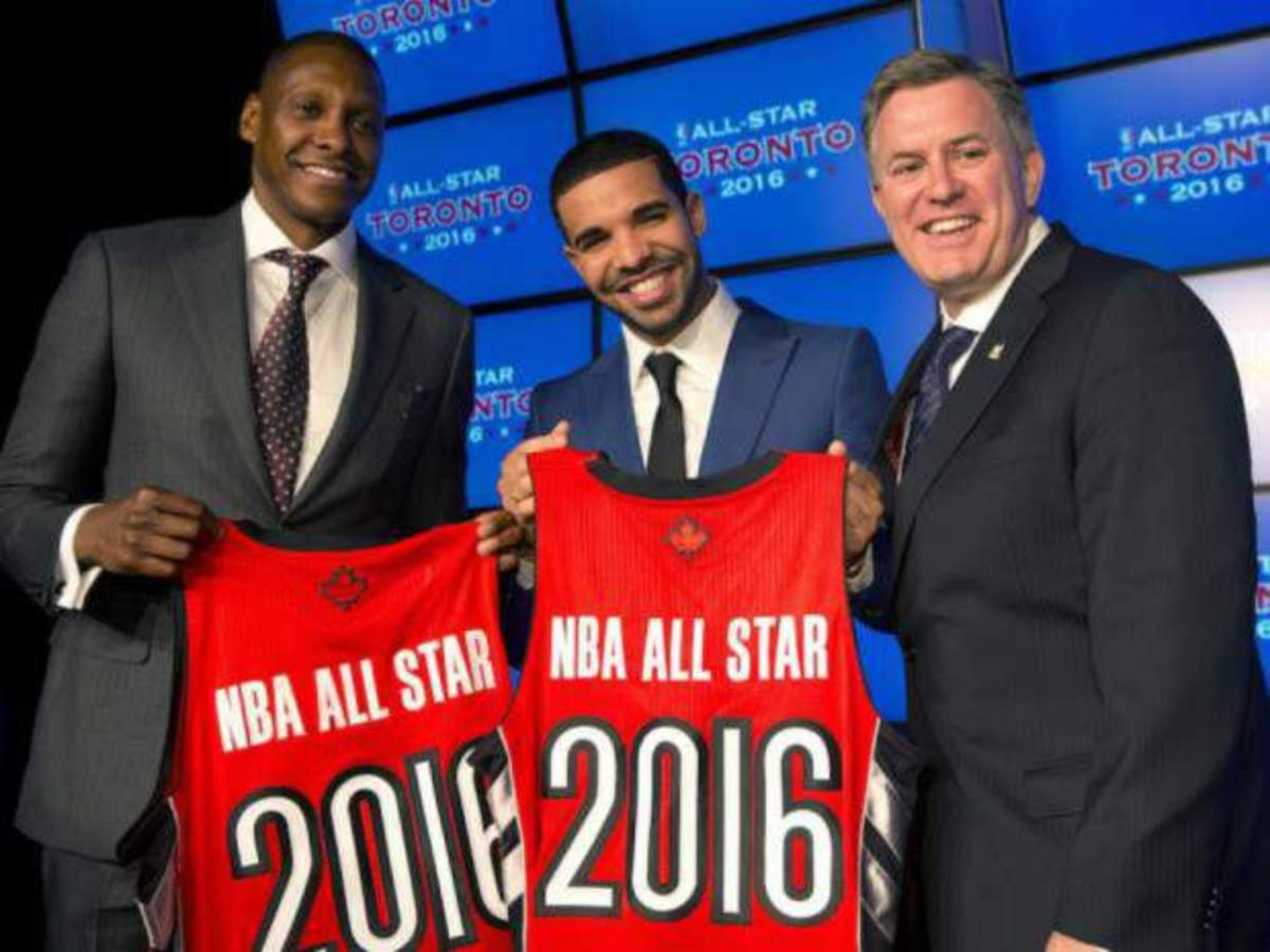 Drake is Team Canada coach in 2016 NBA All-Star Game