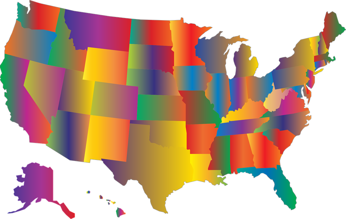 Click on the map to check your state's statutes.