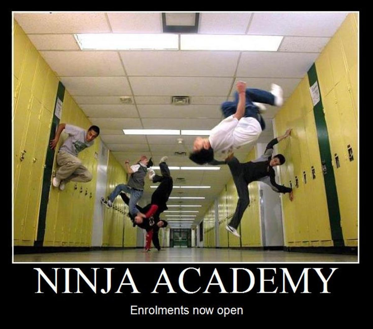 Ninja Academy - Enrollment Now Open