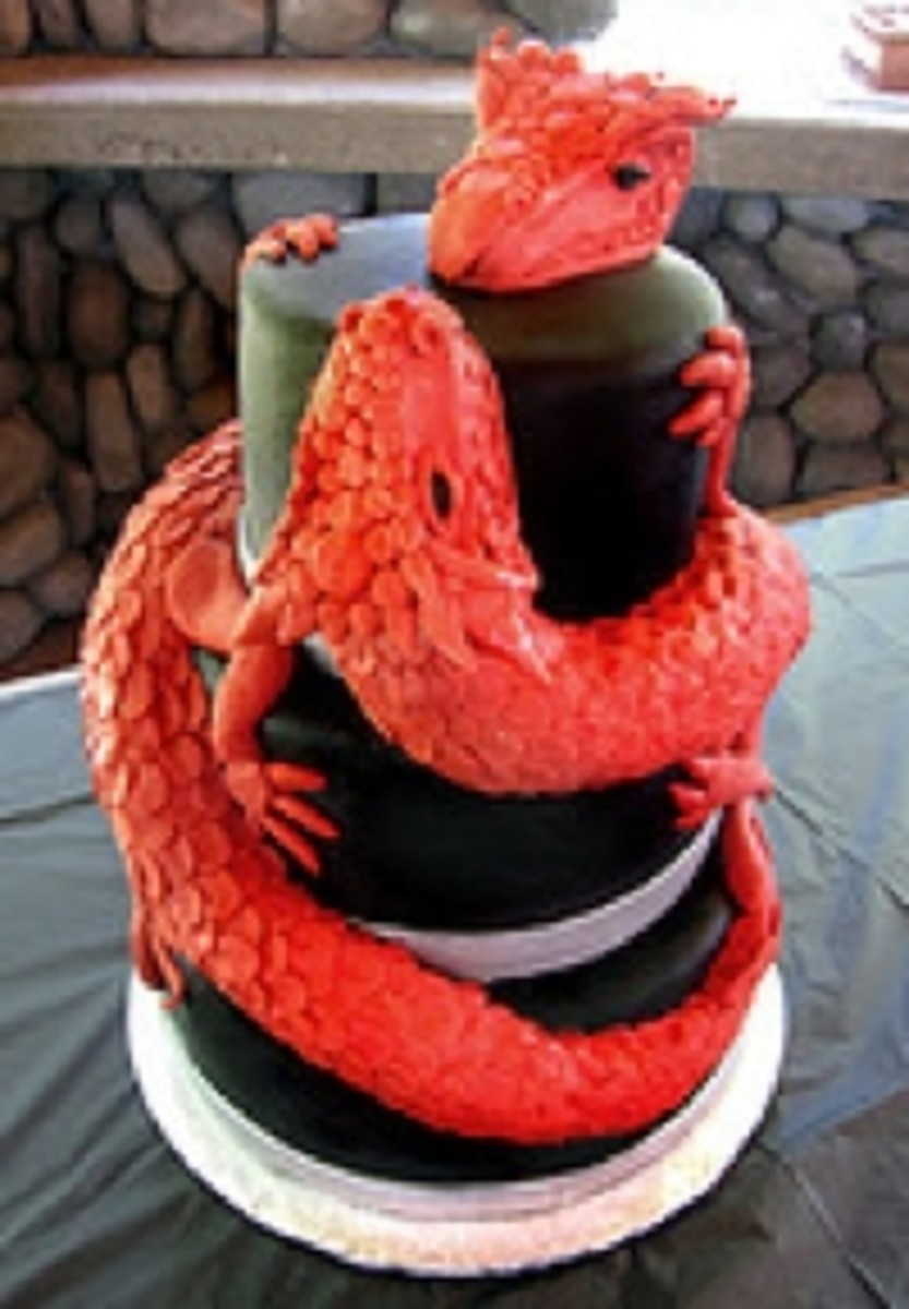Amazing Dragon Birthday Cakes
