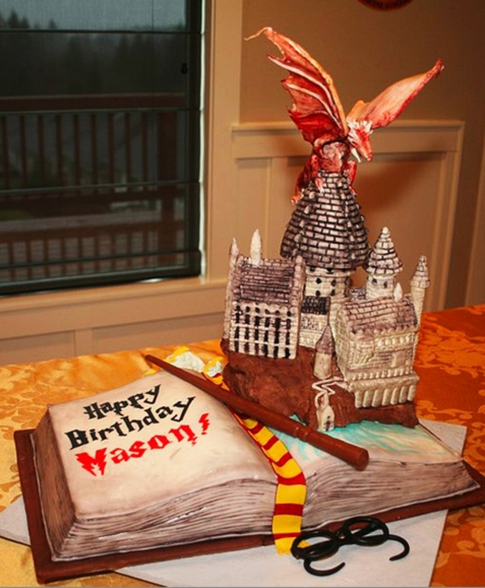 Harry Potter Birthday Cake by Artisan Cake Company