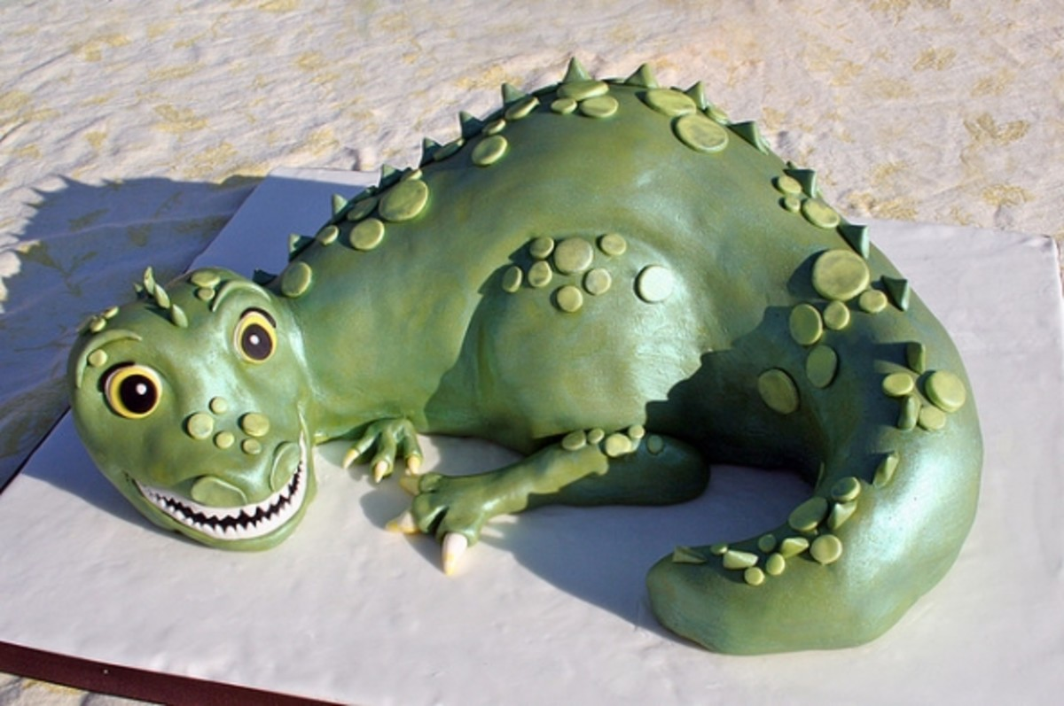 Amazing Dragon Birthday Cakes | HubPages