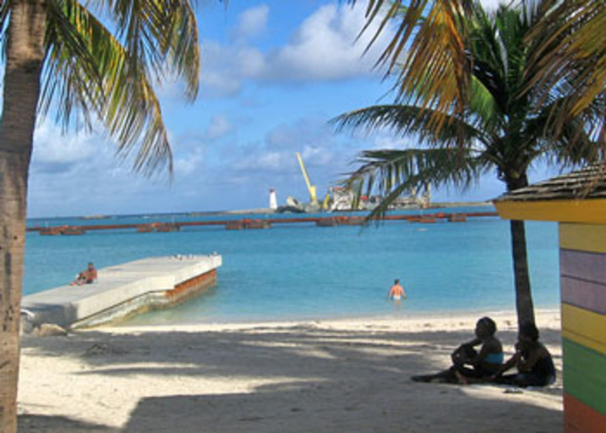 Beach At Nassau