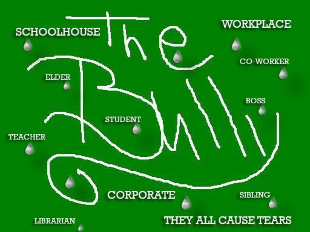 """Colorful poster - """"The Bully"""" in bright green"""