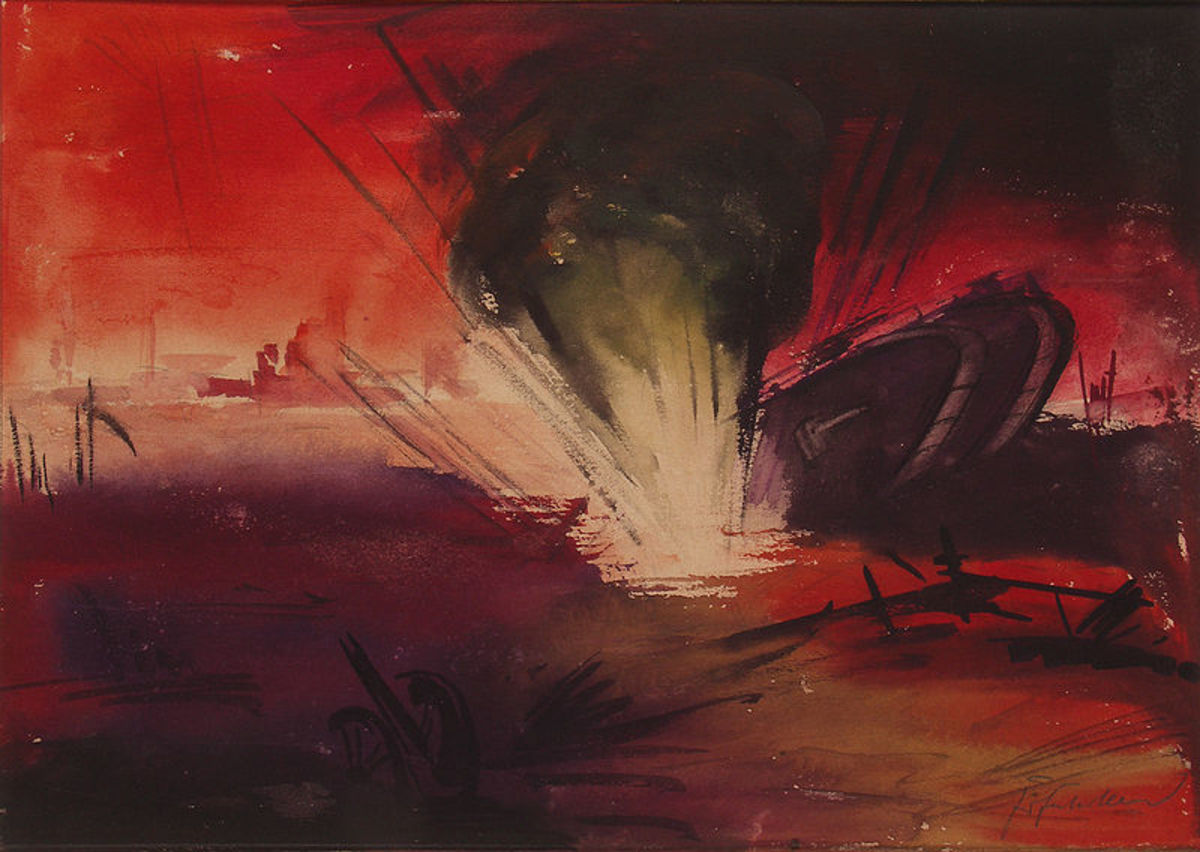 First World War Artists - The Art, Paintings and Poetry of the Great War 1914-18