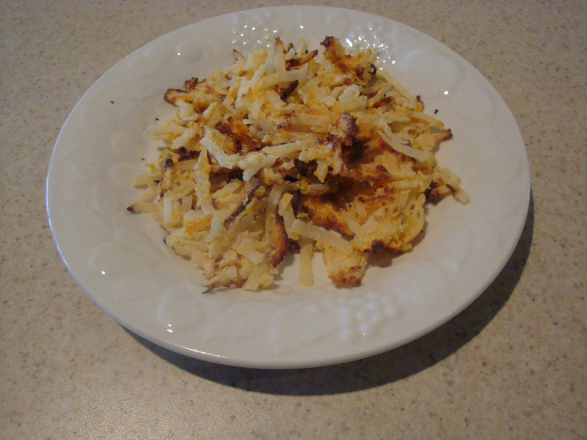 FlavorWave/NuWave Oven Hash Brown Potatoes Recipe
