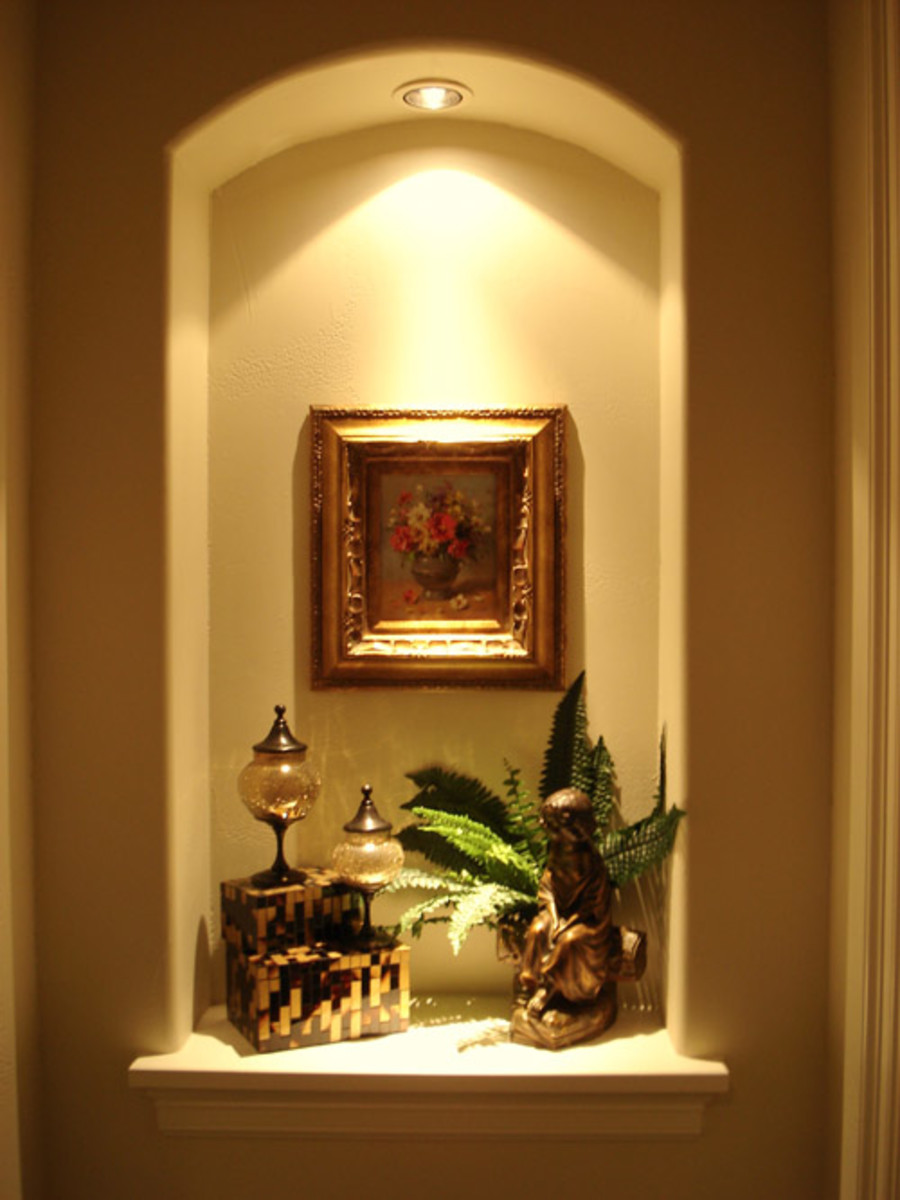 alcove home decorating ideas alcove lighting ideas