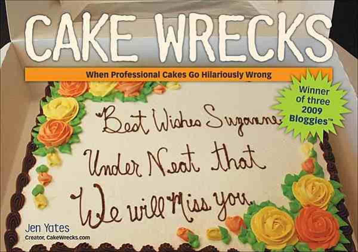 Cake Wrecks - When professional Cake cooking goes horribly wrong! Hilarious!