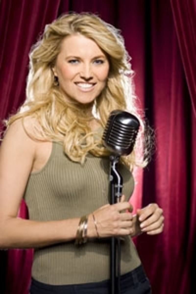 Lucy Lawless Celebrity Duets Promo Image